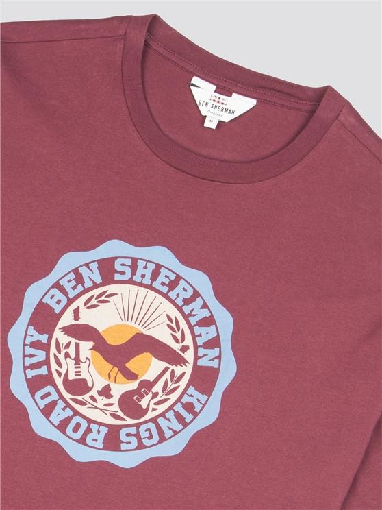 51c216ef306a5e King s Road Ben Sherman Target T-Shirt