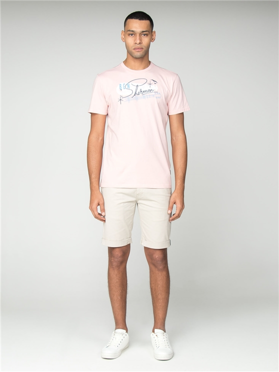 Pink Springs Resort Logo T-Shirt