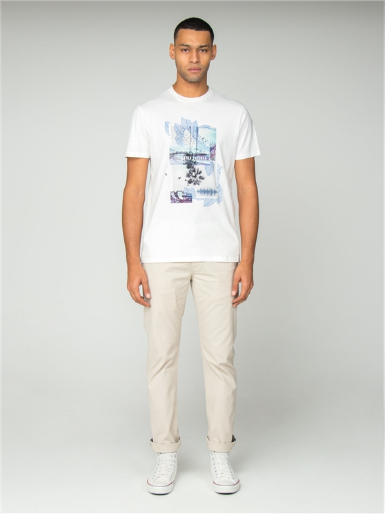 White Promenade T-Shirt