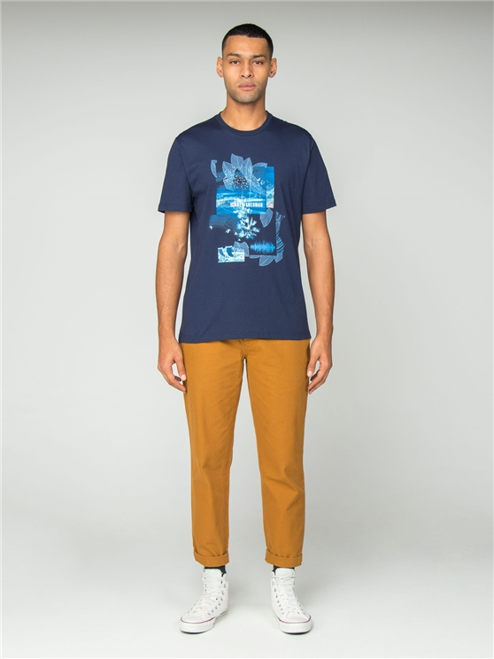 Navy Promenade T-Shirt
