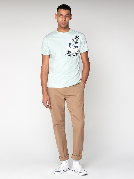 Sea Blue Tropical T-Shirt