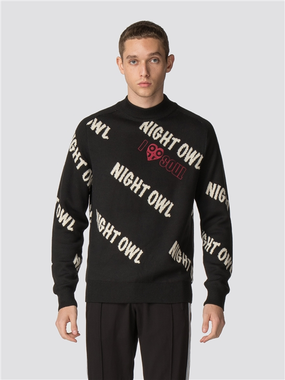 Night Owl Jaquard Jumper