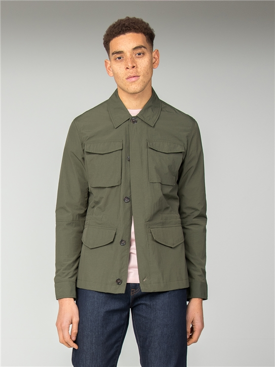 Khaki Four Pocket Jacket