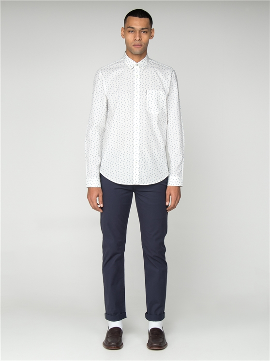 LS SCATTERED GEO SHIRT