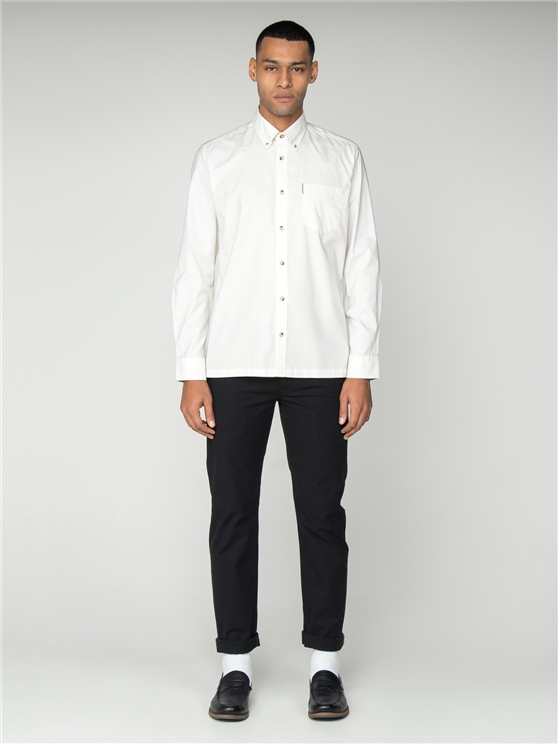 Plain Marl Long Sleeved Shirt
