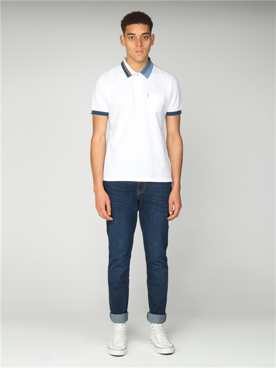 Tipped Interest Pique Polo