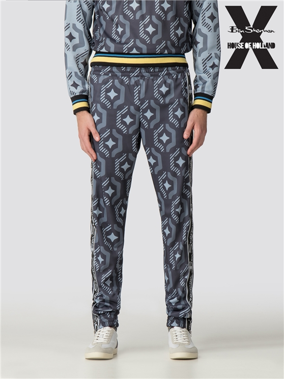 Ben Sherman X House of Holland Wallpaper Print Tracksuit Bottoms