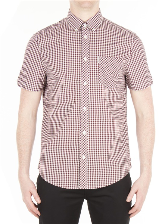 Short Sleeve Core Gingham Shirt- currently unavailable