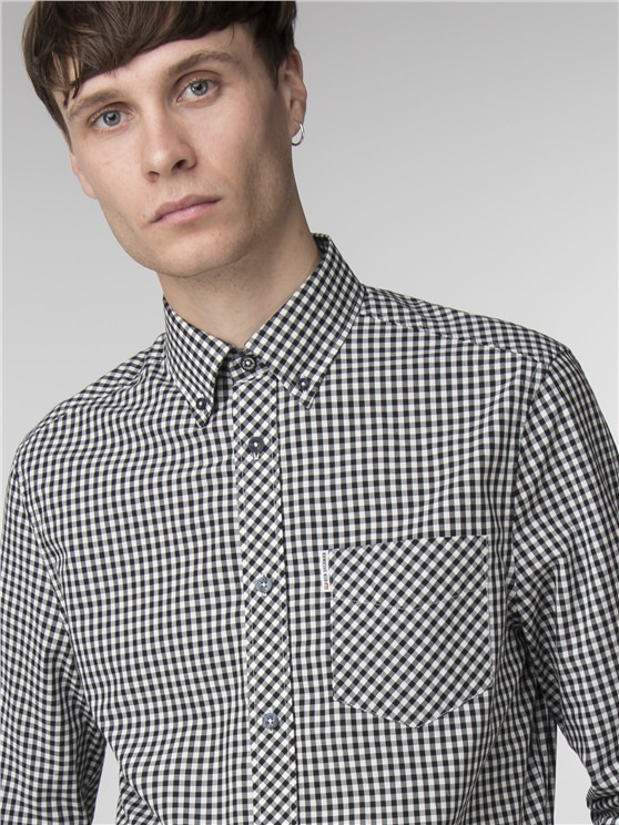 Long Sleeve Core Gingham Shirt- currently unavailable