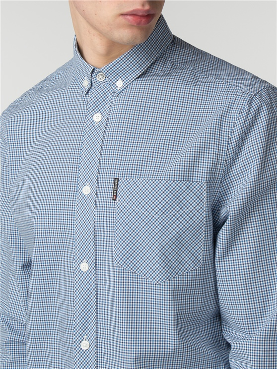 Long sleeve New Mini House Gingham Shirt- currently unavailable