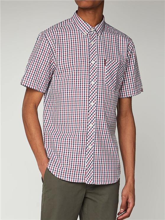 Short Sleeve House Check Shirt