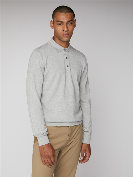 CORE L/S KNITTED POLO