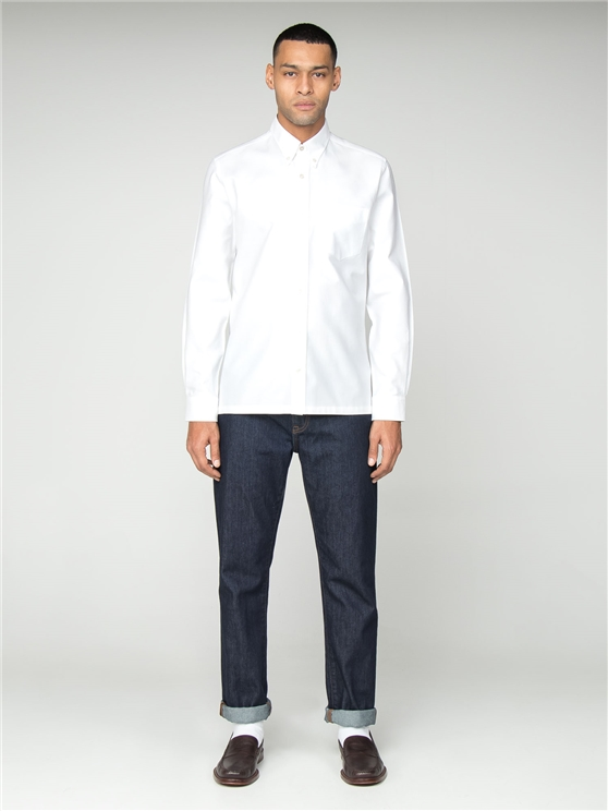 White Archive Oxford Benny Shirt