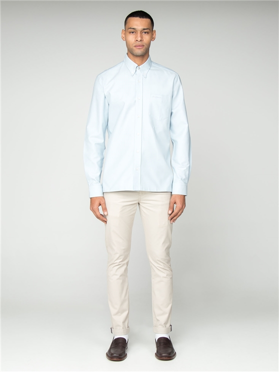 Mint Green Archive Oxford Benny Shirt