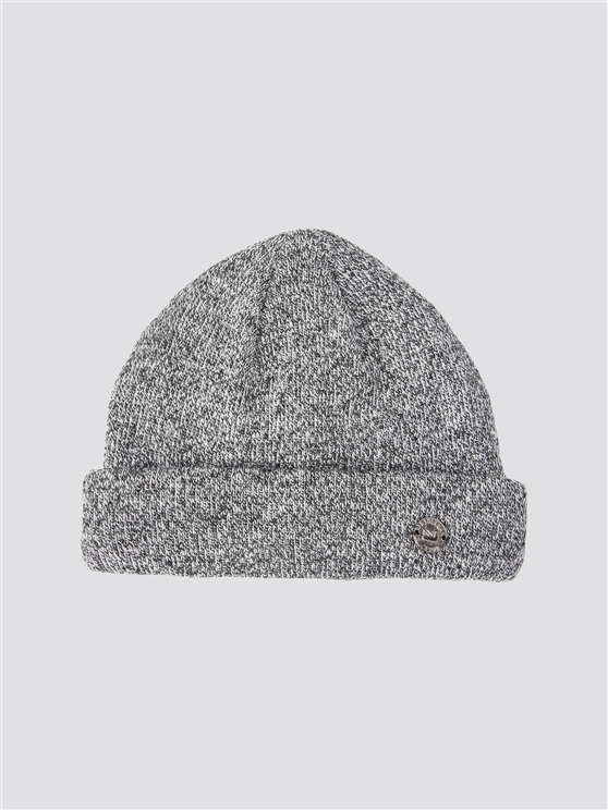 Grey Docker Hat