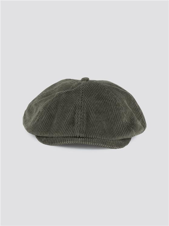 Heath Olive Corduroy Cap