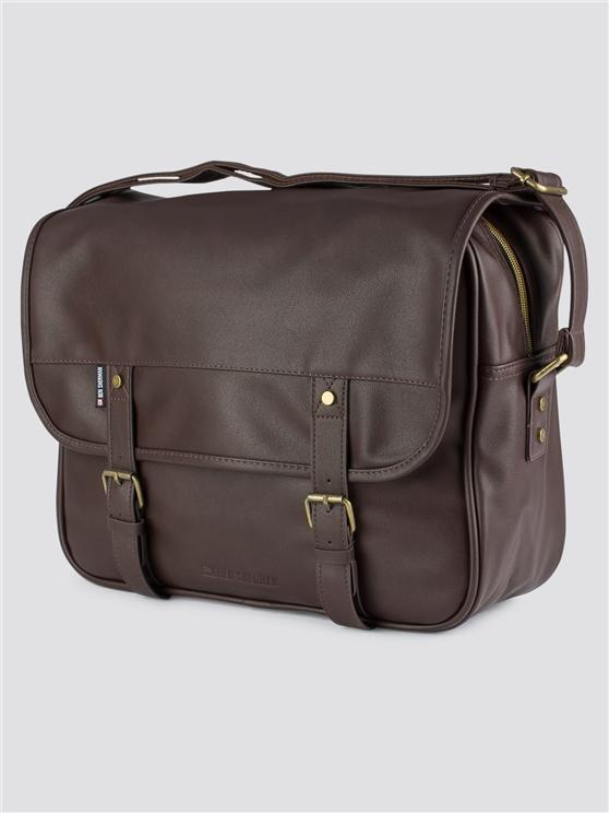 Cove Brown Messenger Bag