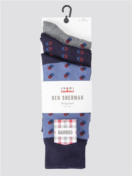 Shagreen 3 Pack Socks