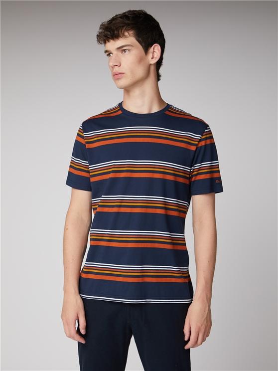 90's Nostalgia Stripe T-Shirt
