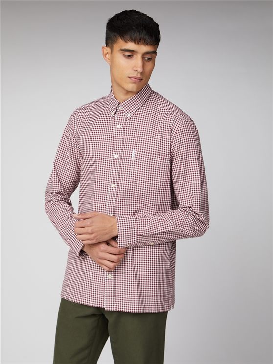 Archive Modernist Gingham Shirt