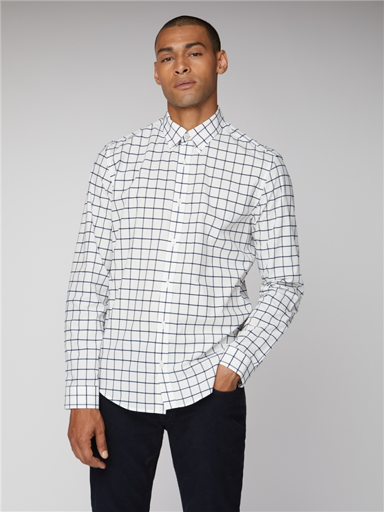 Boucle Windowpane Shirt