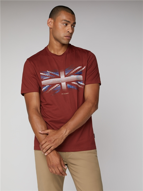 Union Jack Stripe Tee