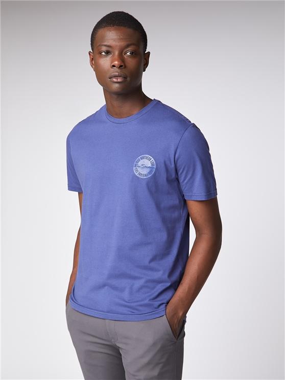 Embossed Circle T-Shirt