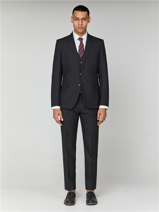 Black Tonic Skinny Fit Camden Suit