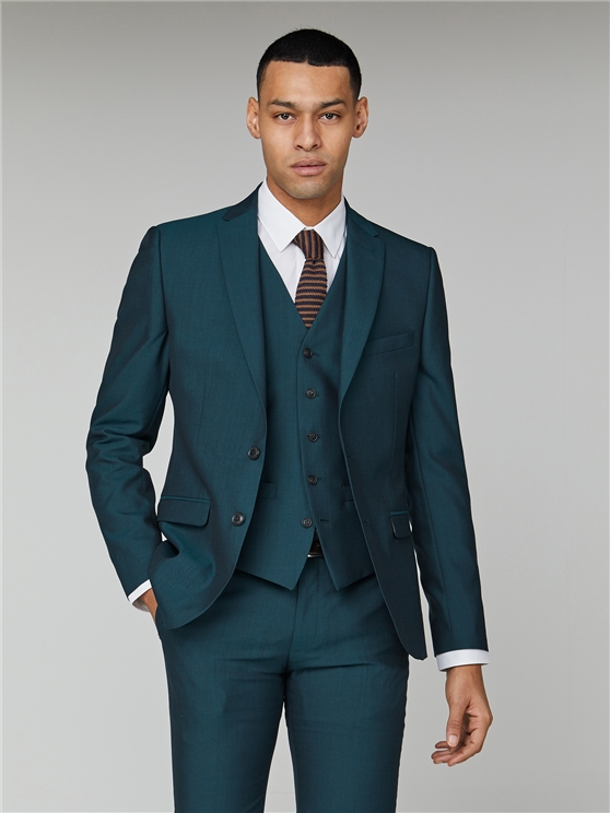 Teal Tonic Camden Three Piece Suit
