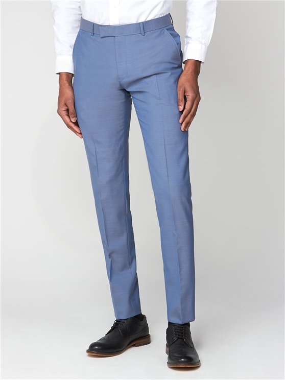 Smoke Blue Tonic Camden Trouser