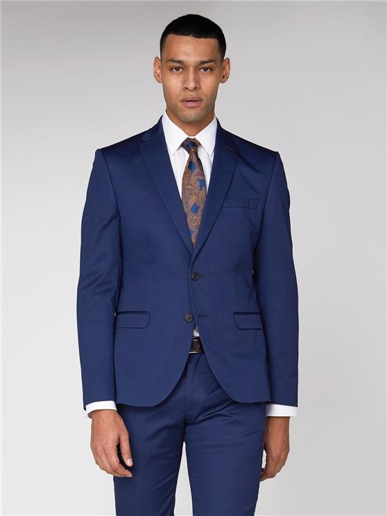 Blue Cotton Camden Jacket