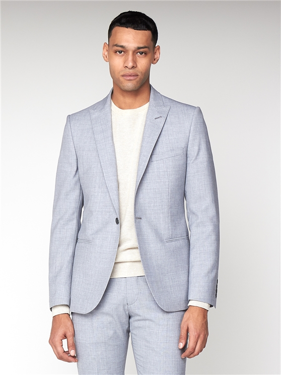 Cool Grey Texture Camden Suit
