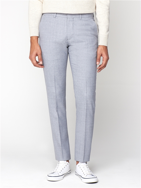 Cool Grey Texture Camden Trouser