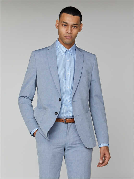 Blue Chambray Camden Jacket