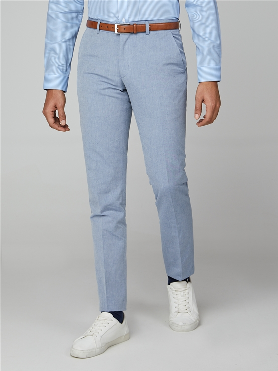 Blue Chambray Camden Trouser