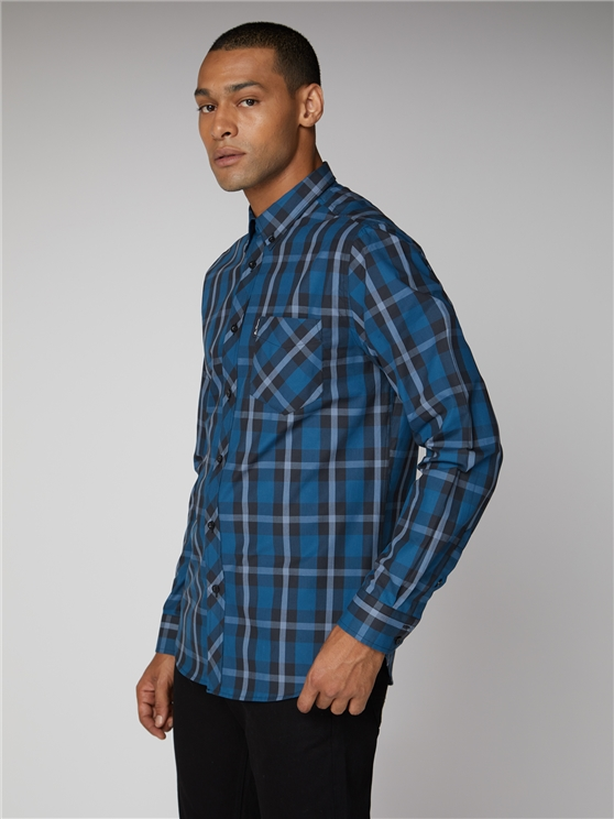 PLAID TWILL CHECK SHIRT