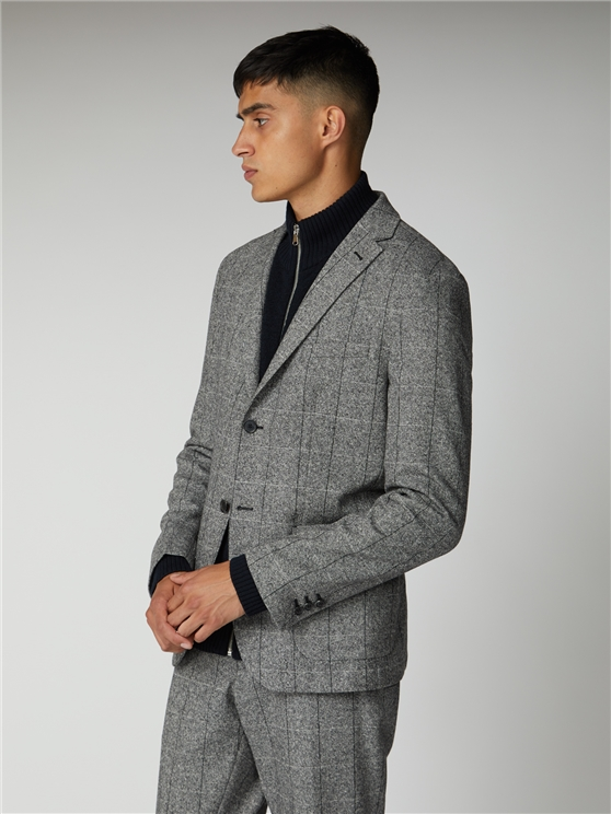 Salt and Pepper Blazer