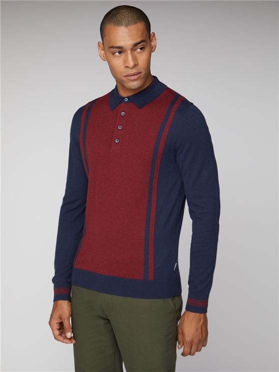 Long Sleeve Mod Polo