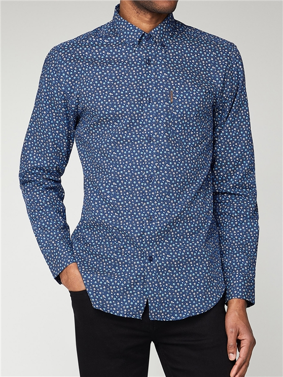 Microp Floral Long Sleeve Shirt