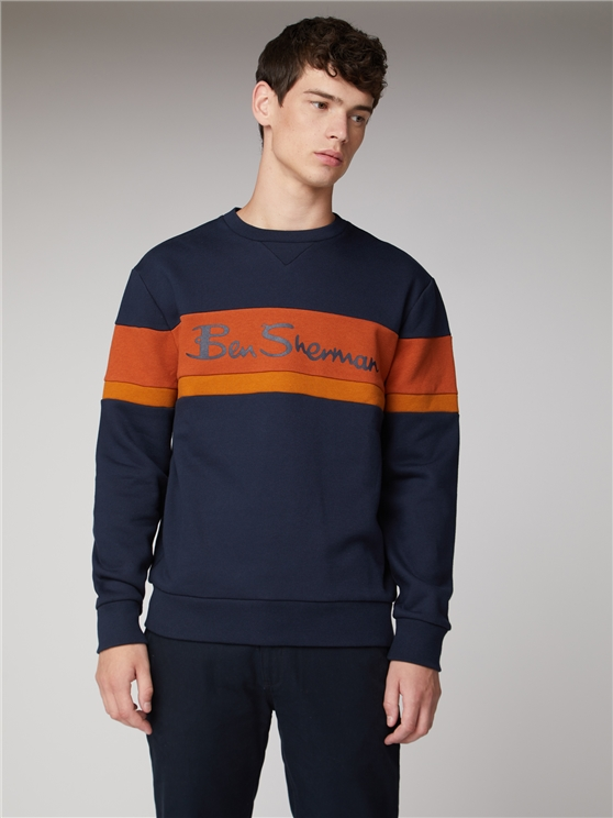 Sports Crew Neck Jumper