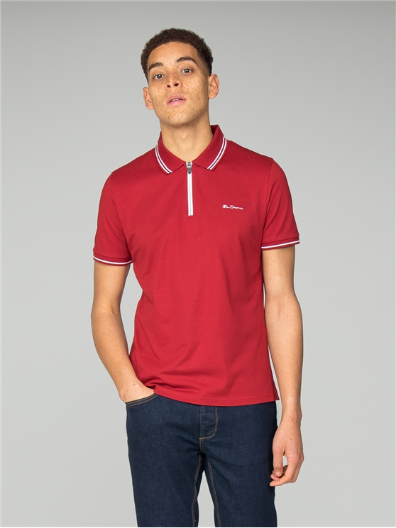 Ruby Zip Polo Shirt