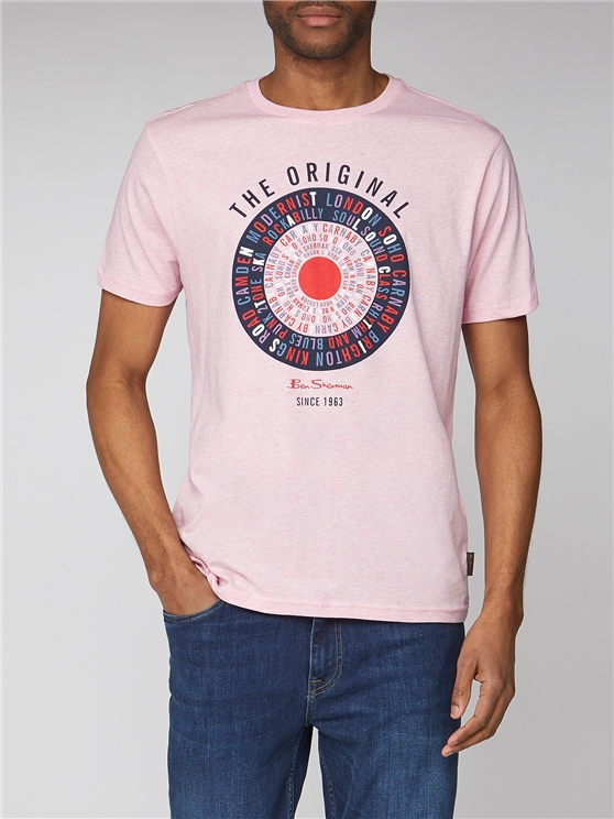 Text Target Graphic T-Shirt