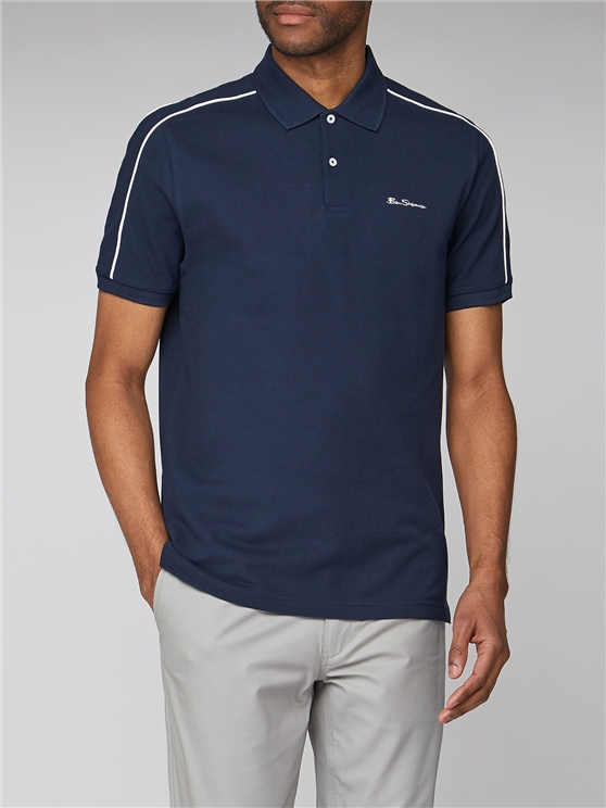 Colour Block Pique Polo