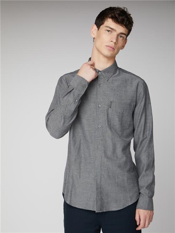 Long Sleeve Soft Flannel Shirt