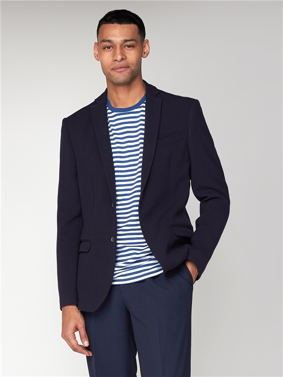 Nayv Brushed Texture Unstructured Slim Jacket