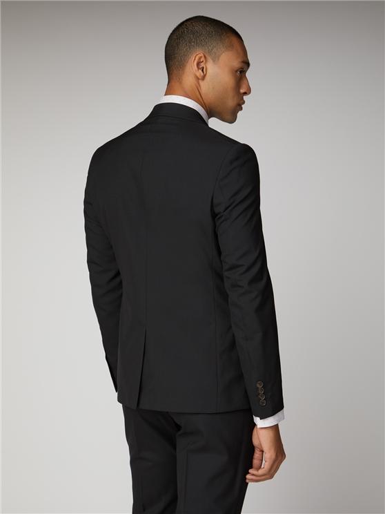 Black Tonic Suit Jacket