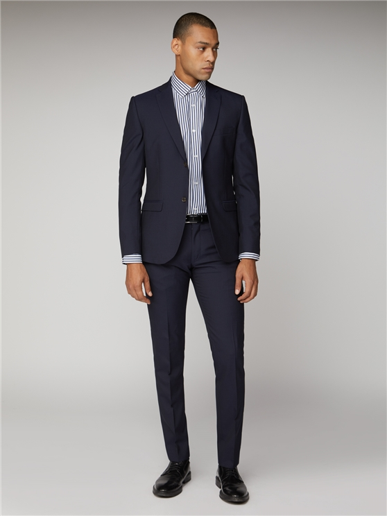 Blue Depths Navy Tonic Suit Jacket