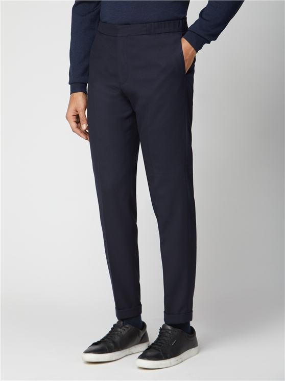 British Navy Structure Suit Trouser