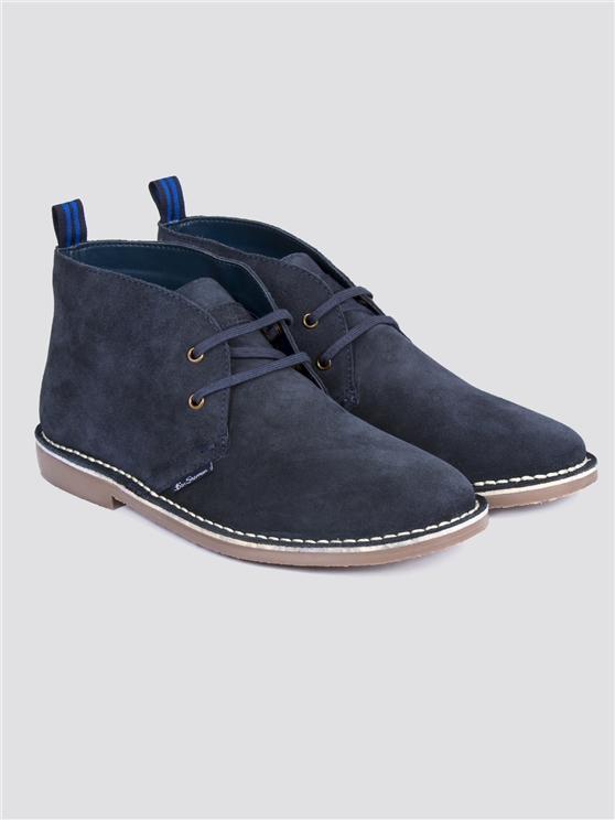 Navy Hunt Desert Boot