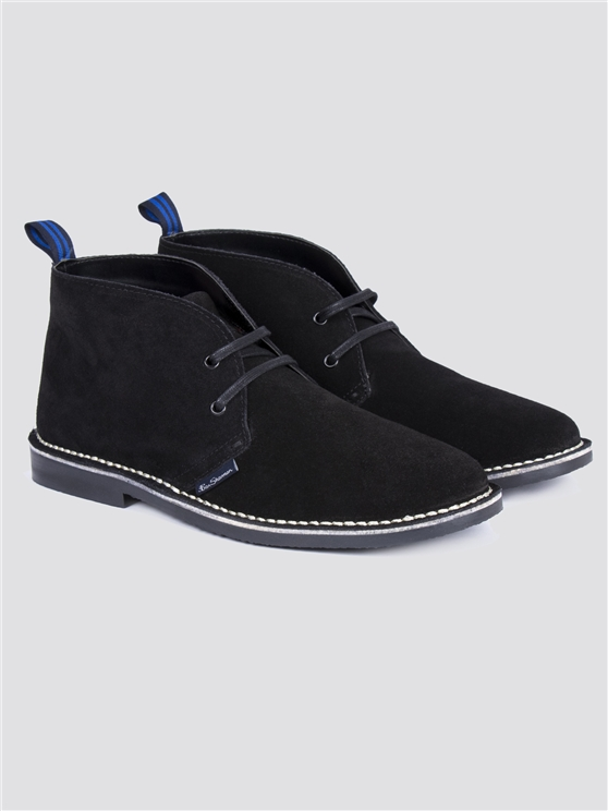 Black Hunt Desert Boot